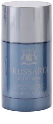 Trussardi Blue Land desodorizante em stick para homens
