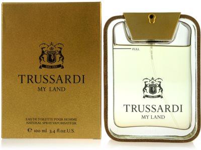 Trussardi My Land Eau de Toilette für Herren