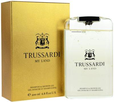 Trussardi My Land Duschgel für Herren 1