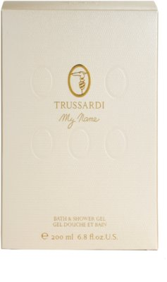 Trussardi My Name Shower Gel for Women 3