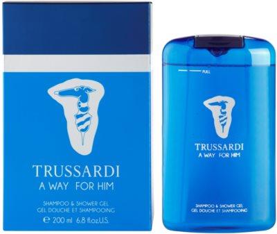Trussardi A Way For Him gel de dus pentru barbati
