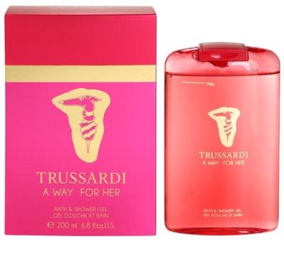 Trussardi A Way For Her gel de dus pentru femei