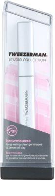Tweezerman Studio Collection gel pentru sprancene pentru look perfect 2
