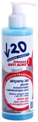 Under Twenty ANTI! ACNE INTENSE gel limpiador profundo contra las imperfecciones de la piel