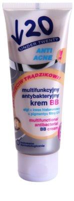 Under Twenty ANTI! ACNE мультифункціональний ВВ крем з антибактеріальним ефектом