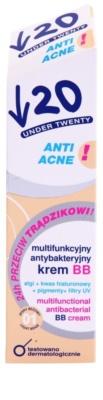 Under Twenty ANTI! ACNE multifunktionelle BB Creme mit antibakterieller Wirkung 2