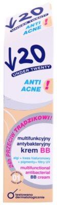 Under Twenty ANTI! ACNE Crema BB multifunctionala cu efect antibacterian 2