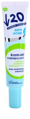 Under Twenty ANTI! ACNE kremasti gel za razširjene pore
