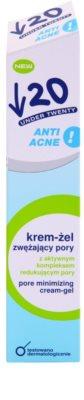 Under Twenty ANTI! ACNE kremasti gel za razširjene pore 2