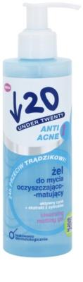 Under Twenty ANTI! ACNE hĺbkovo čistiaci gél proti akné