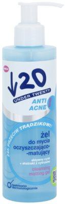 Under Twenty ANTI! ACNE Глибоко очищуючий гель проти акне