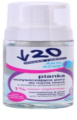 Under Twenty ANTI! ACNE Schaum zur Mundhygiene mit antibakterieller Wirkung