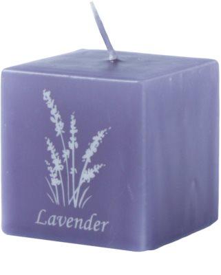 Unipar Lavender Violet vonná svíčka   (Square 50 - 50 - 50)