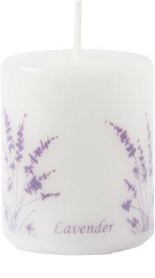Unipar Lavender White świeczka zapachowa    (Pillar 50 - 60)