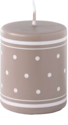 Unipar Retro Light Brown dekoratívna sviečka   (Pillar 60 - 80)