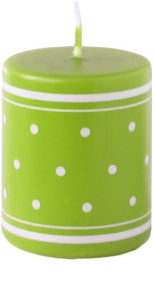 Unipar Retro Light Green Kerze   (Pillar 50 - 60)