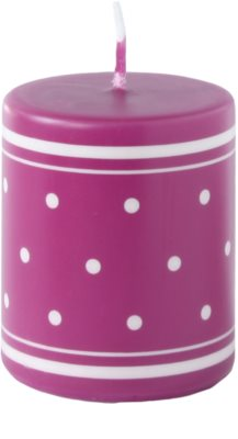 Unipar Retro Pink dekorativní svíčka   (Pillar 60 - 120)