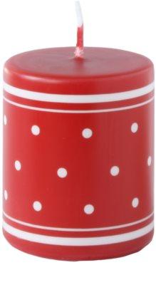 Unipar Retro Red sveča   (Pillar 70 - 150)