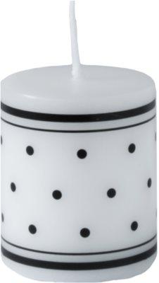 Unipar Retro White Kerze   (Pillar 50 - 60)