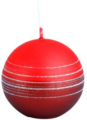 Unipar Tonnet Light Red-Red dekoratívna sviečka   (Square 60 - 60 - 60)