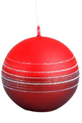 Unipar Tonnet Light Red-Red dekorativní svíčka   (Square 60 - 60 - 60)