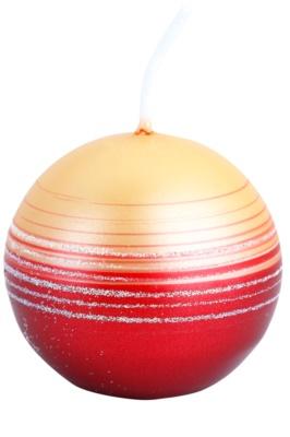 Unipar Tonnet Red-Copper dekorativní svíčka   (Square 60 - 60 - 60)