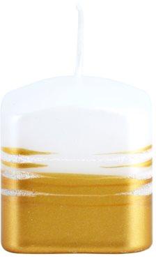 Unipar Tonnet White-Gold sveča   (Square 60 - 60 - 60)