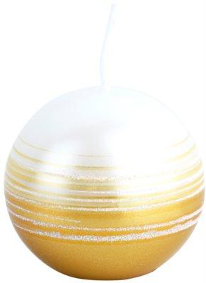 Unipar Tonnet White-Gold lumanare   (Square 60 - 60 - 60)