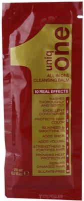 Uniq One Care bálsamo de limpeza  para todos os tipos de cabelos