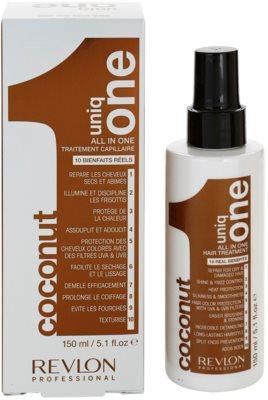 Uniq One Care tratament pentru par cu nuca de cocos 3