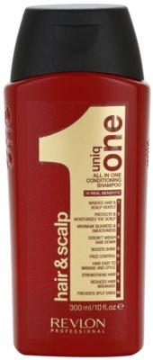 Uniq One Care Shampoo mit ernährender Wirkung für alle Haartypen