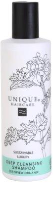 Unique Hair Care tiefenreinigendes Shampoo für das Haar