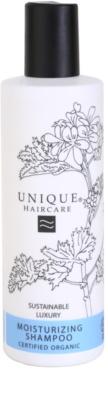Unique Hair Care champú hidratante para cabello seco y dañado
