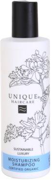 Unique Hair Care зволожуючий шампунь для сухого або пошкодженого волосся