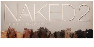 Urban Decay Naked2 paleta de sombras de ojos con cepillo 2