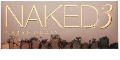 Urban Decay Naked3 paleta očních stínů se štětečkem 2