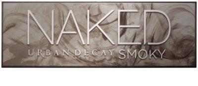 Urban Decay Naked Smoky paleta očních stínů se štětečkem 1