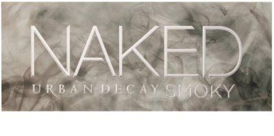 Urban Decay Naked Smoky paleta očních stínů se štětečkem 2