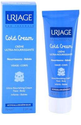 Uriage 1érs Soins Bébés nährende Crem für Körper und Gesicht 2