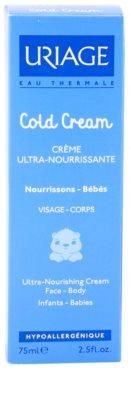 Uriage 1érs Soins Bébés nährende Crem für Körper und Gesicht 3