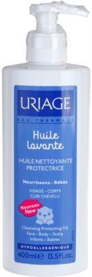 Uriage 1érs Soins Bébés óleo de limpeza para rosto, corpo e couro cabeludo