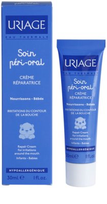 Uriage 1érs Soins Bébés регенериращ крем за раздразнена кожа около устните 1