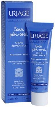 Uriage 1érs Soins Bébés регенериращ крем за раздразнена кожа около устните 2