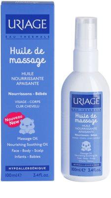 Uriage 1érs Soins Bébés масажна олійка для обличчя, тіла та шкіри голови 1