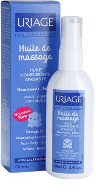 Uriage 1érs Soins Bébés масажна олійка для обличчя, тіла та шкіри голови 2