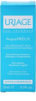Uriage AquaPRÉCIS feuchtigkeitsspendendes Augengel 3