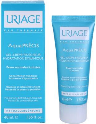 Uriage AquaPRÉCIS hydratační gelový krém pro normální až smíšenou pleť 1