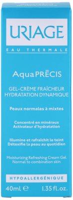 Uriage AquaPRÉCIS hydratační gelový krém pro normální až smíšenou pleť 2