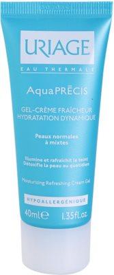 Uriage AquaPRÉCIS gel crema hidratant pentru piele normala si mixta