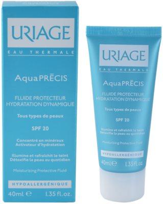 Uriage AquaPRÉCIS vlažilni zaščitni fluid za vse tipe kože 1